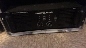 Crest audio pro 8200 for Sale in Homewood, IL