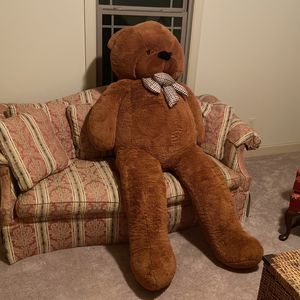 Life Size Teddy Bear for Sale in Charlotte, NC