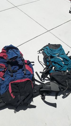 2 professional hiking camping backpacks both for $125 for Sale in Tracy, CA