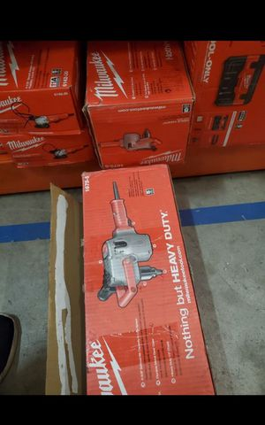 MILWUAKEE CORDED HOLE HAWG 1/2 DRILL BRAND NEW for Sale in San Bernardino, CA