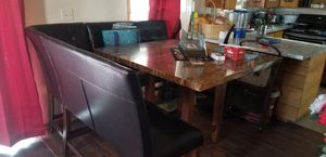 Kitchen table,tv stand,and coffee table and 2 end tables for Sale in Everett, WA