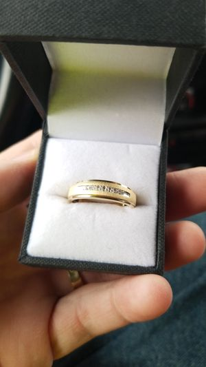 Mens wedding ring great Christmas gift for Sale in San Angelo, TX