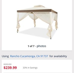PARTY EVEN TENT WITH MOSQUITO NET for Sale in Rancho Cucamonga, CA