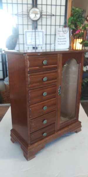 Small 6-Drawer Jewelry Armoire for Sale in Lancaster, TX