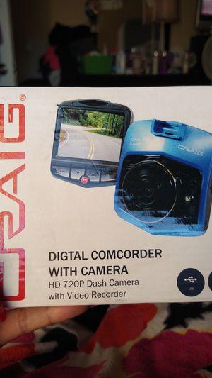 New in box Craig digital camera comcorder hd 720 p for Sale in Whittier, CA