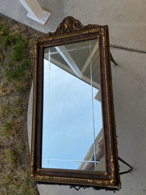 Antique mirror and frame for Sale in Bloomington, CA
