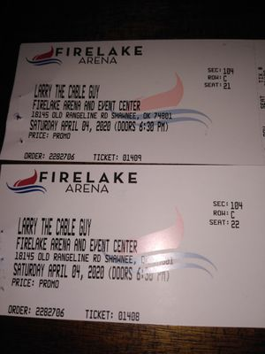 Larry the Cable Guy tickets for Sale in Harrah, OK
