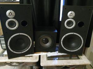 2 KLH House Speakers + Polk Audio Subwoofer for Sale in Denver, CO