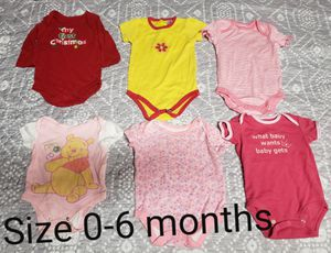 Baby Girl Clothes size 0-6 months for Sale in Renton, WA
