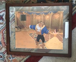 Disney Beauty & The Beast Framed Photo with Authentic Movie Film for Sale in Henderson, NV