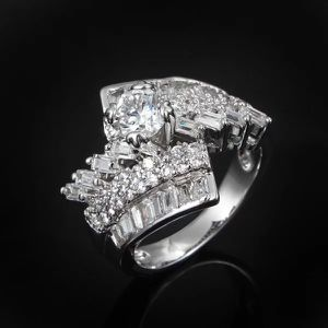 18K Gold plated Baguette cut Diamond Ring for Sale in Sacramento, CA