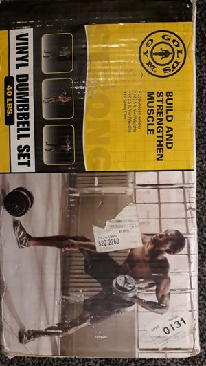 DUMBBELL SET....GOLD GYM!!!!! for Sale in Denver, CO