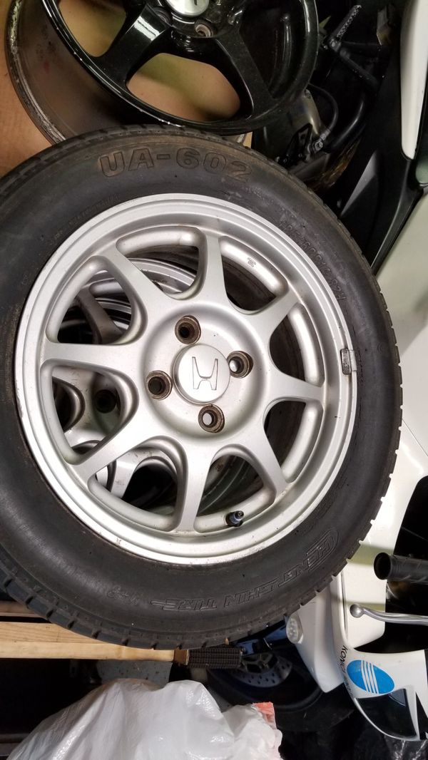 3- Civic HX wheels