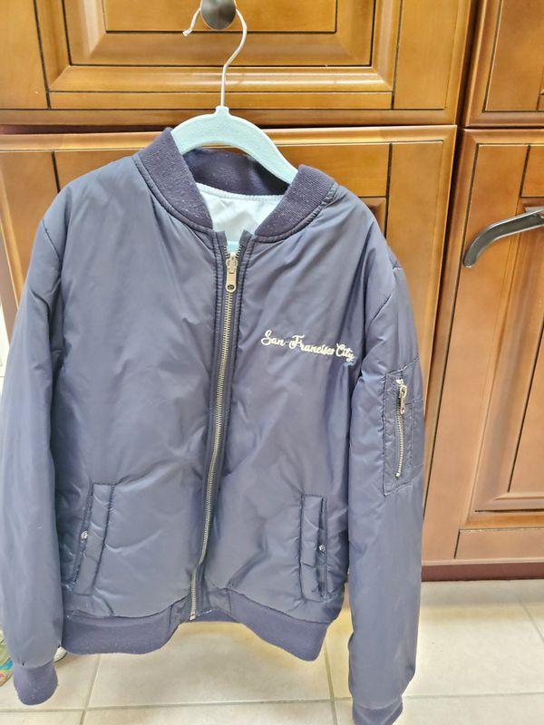 Boys Zara bomber jacket size 8