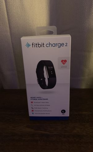 Fitbit Charge 2 Large Black for Sale in Miami Beach, FL