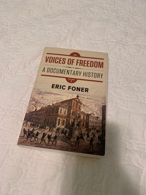 Voices of freedom by Eric Foner for Sale in Hayward, CA
