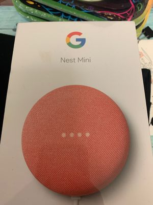 (2) Google nest mini for Sale in Greensburg, PA