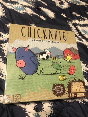 Chickapig Board Game Brand New for Sale in San Antonio, TX