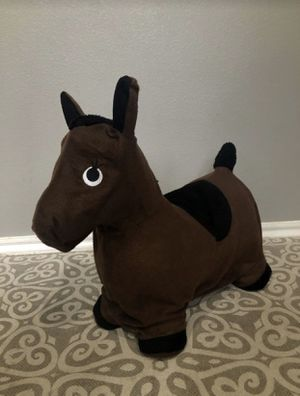 Inflatable ride on horse toy for kids for Sale in Carrollton, TX