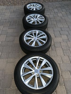 Infiniti wheels and tires 17 inch OEM for Sale in Gilbert, AZ
