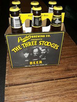 3 Stooges Display Beer Bottles And Carrier for Sale in Waddell,  AZ