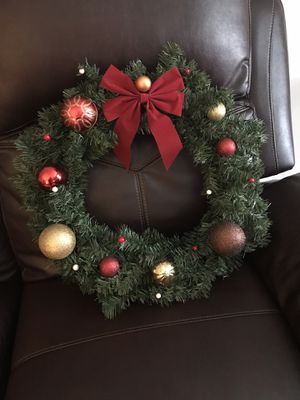 Christmas wreaths for Sale in Manassas, VA