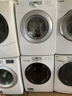 Washer and dryer kenmore elite Front Load electric dryer with 3 months warranty free Delivery installation<<<hablo español for Sale in Oakland, CA