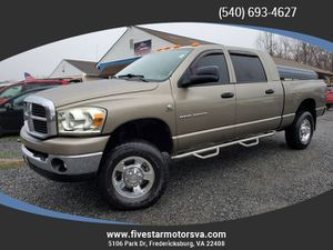 2006 Dodge Ram 2500 Mega Cab for Sale in Fredericksburg, VA