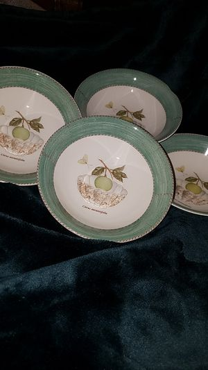 4 Bowl Set-Porcelain China from Wedgwood for Sale in Fairfax, VA