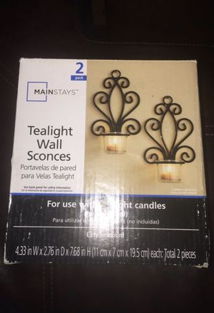 Tea Light Wall Sconces for Sale in Taylorsville, UT