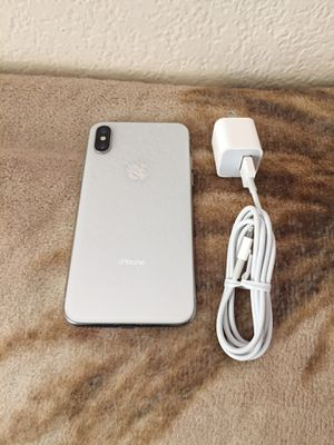 T-Mobile/metro iPhone X-256gb $530 firm no trade for Sale in West Sacramento, CA