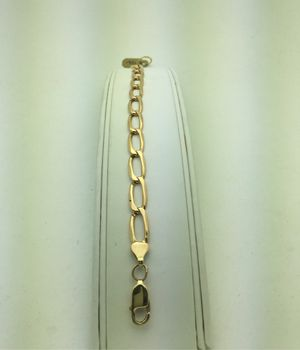 14K Yellow Gold Bracelet Open Link for Sale in Chula Vista, CA