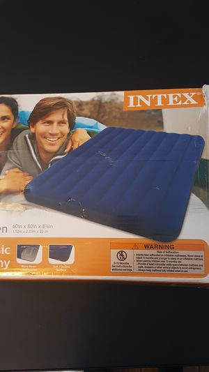 Intex queen air mattress for Sale in Washington, DC