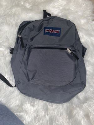 Grey jansport backpack for Sale in Albuquerque, NM