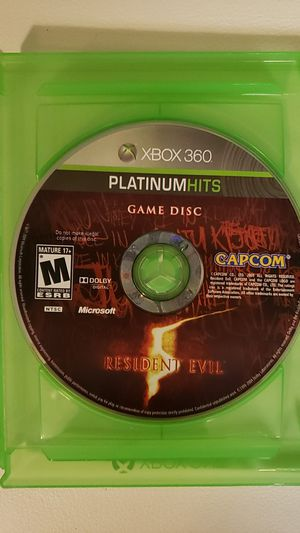 Xbox 360 resident evil game for Sale in Evesham Township, NJ