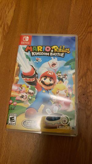 Mario + Rabbits kingdom battle for Sale in Bellevue, WA