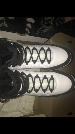Jordan 9s retro og white and black for Sale in Nashville, TN