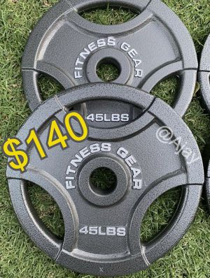 Brand New!!! 45lbs Olympic Weight Set for Sale in Chino Hills, CA
