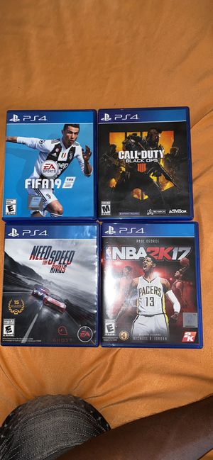 Ps4 games for Sale in Richardson, TX