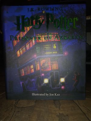 Harry.potter book 1,2,&3 illustrated by jim kay for Sale in Glendale, AZ