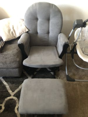 Rocking Chair with Foot stool for Sale in Seal Beach, CA