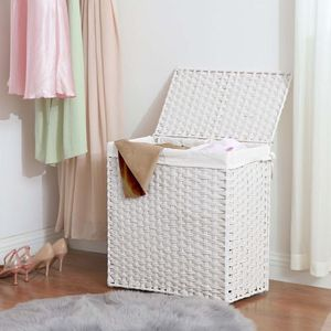 Divided Laundry Basket laundry hamper LCB52WT for Sale in Hacienda Heights, CA
