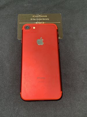 Unlocked iPhone 7 256GB Product Red Rare for Sale in San Jose, CA