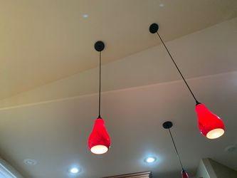 3 piece lights over kitchen islands, etc for Sale in Fife,  WA