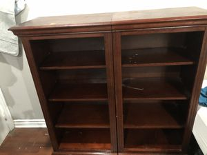 Two wood bookshelves. OBO for Sale in San Diego, CA