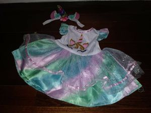 Baby girl unicorn costume/outfit 18m-2t for Sale in San Antonio, TX