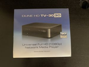 Dune HD 3D for Sale in Glendale, CA
