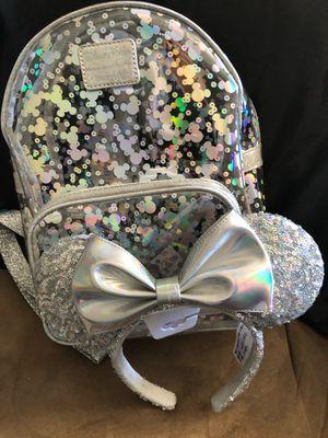 Disney loungefly Mickey Metallic mirror set for Sale in Pomona, CA