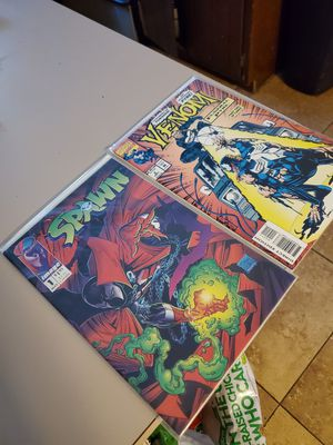 Comics Spawn #1 Venom #2 for Sale in Glendale, AZ