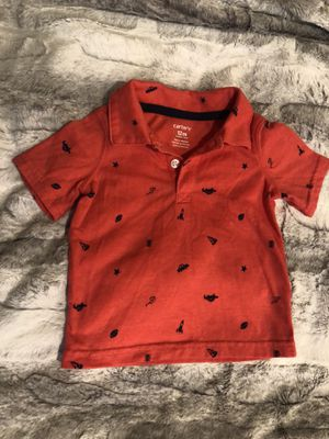 12months baby boy t shirt, Carter's for Sale in Everett, WA
